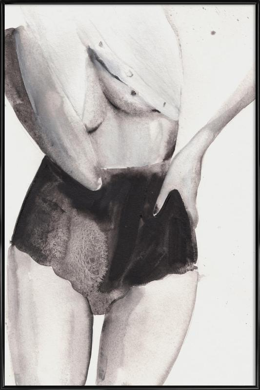 Dance with Me -Bild mit Kunststoffrahmen