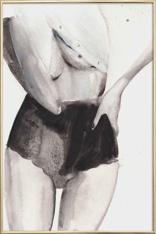 Dance with Me Poster i aluminiumram