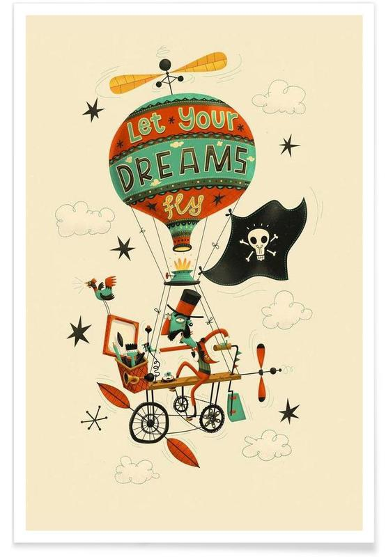 Let your dreams fly -Poster