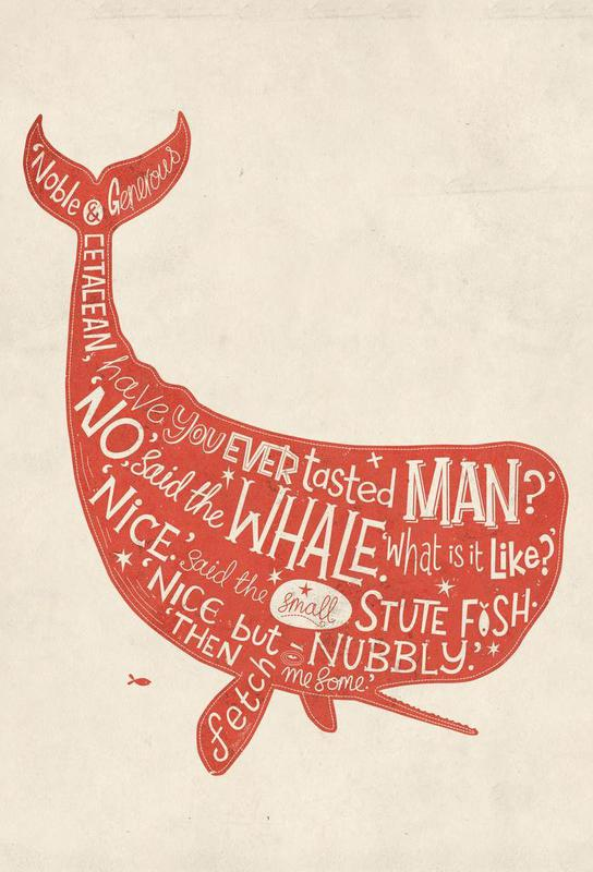 How the Whale got his throat -Acrylglasbild