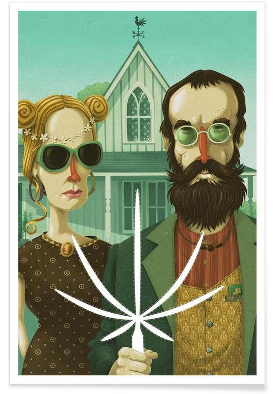 American Gothic High -Poster