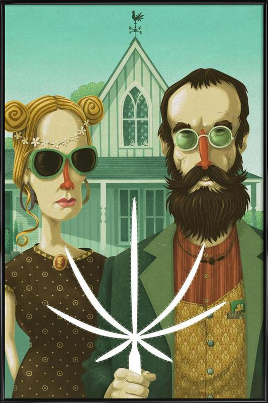 American Gothic High Framed Poster