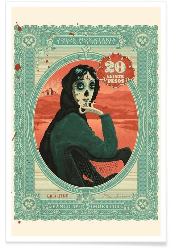 Senora Lavery -Poster