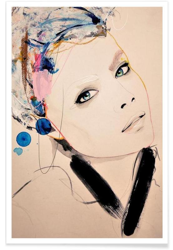Illustrations de mode, Abiding affiche