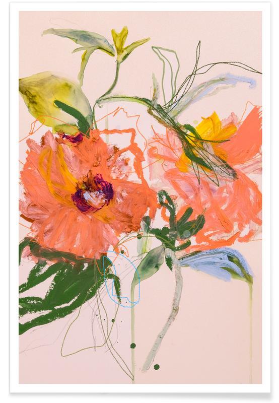, Rosa Chinensis Lutea affiche