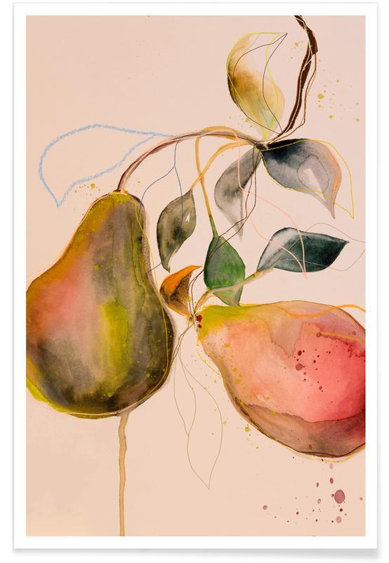 Poires, Pear 01 affiche