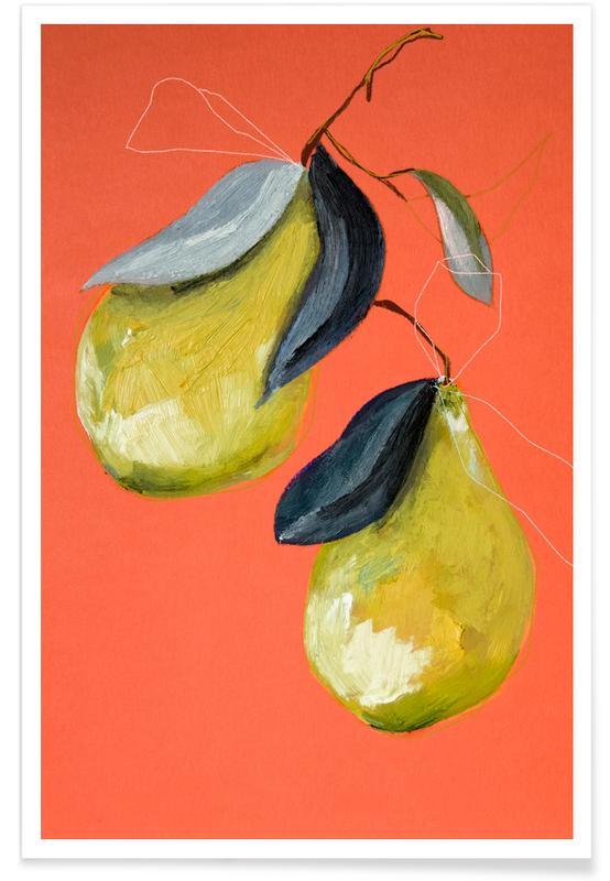 Poires, Pear 03 affiche