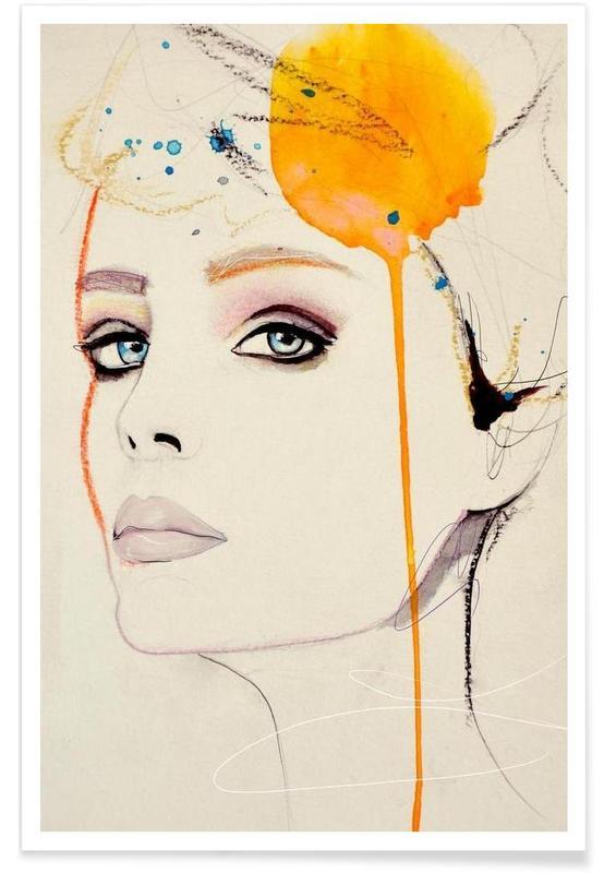 Portretten, Orchid poster