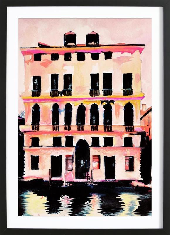 Prada Palazzo ingelijste print