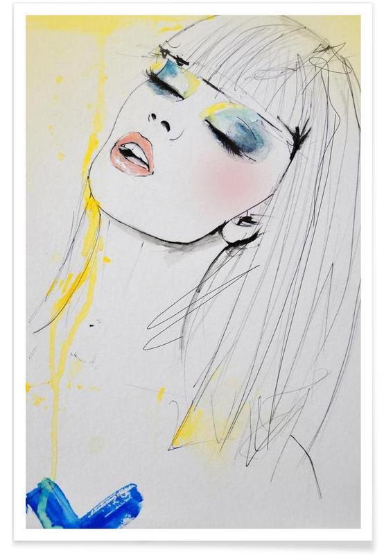 Portraits, Marianne affiche