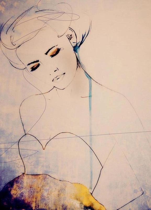 Abstractions Aside -Leinwandbild