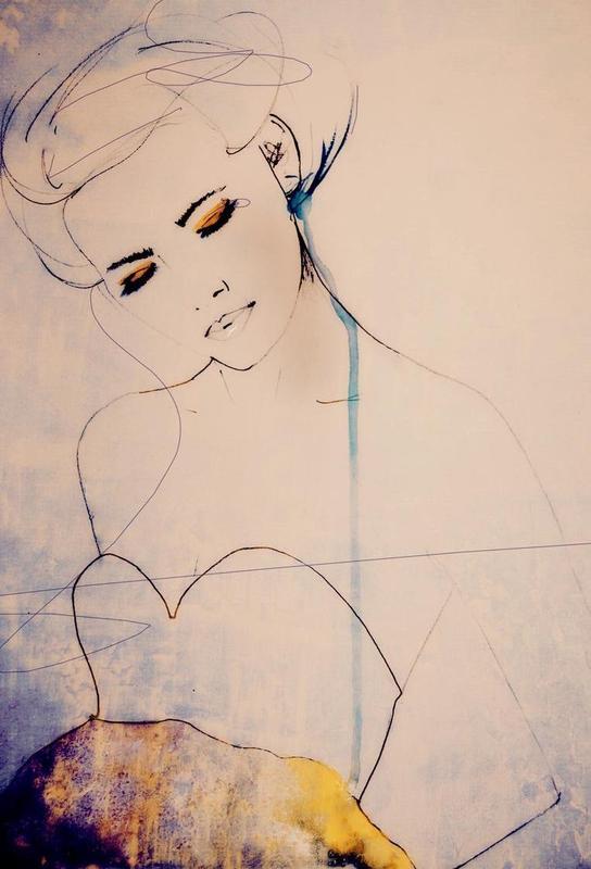 Abstractions Aside -Acrylglasbild