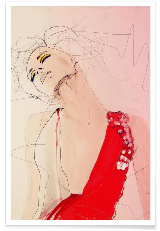 Fashion Illustrations, Atmosphere Poster