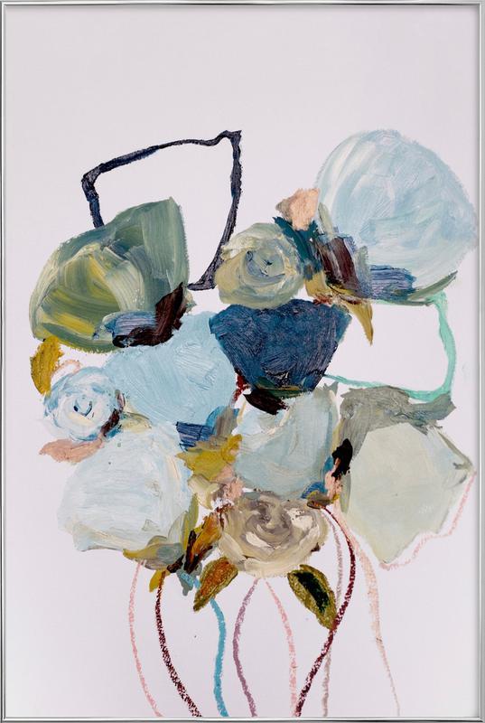 Bloom 0831 -Poster im Alurahmen