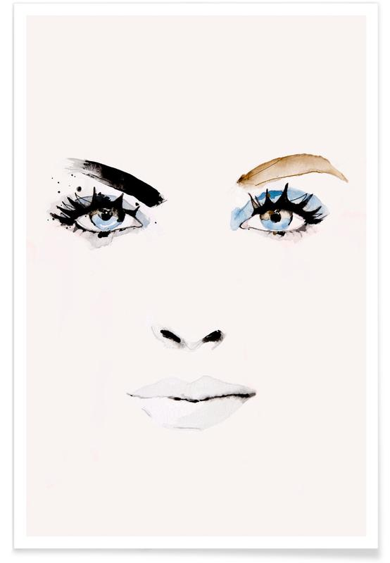 Porträts, Flush -Poster