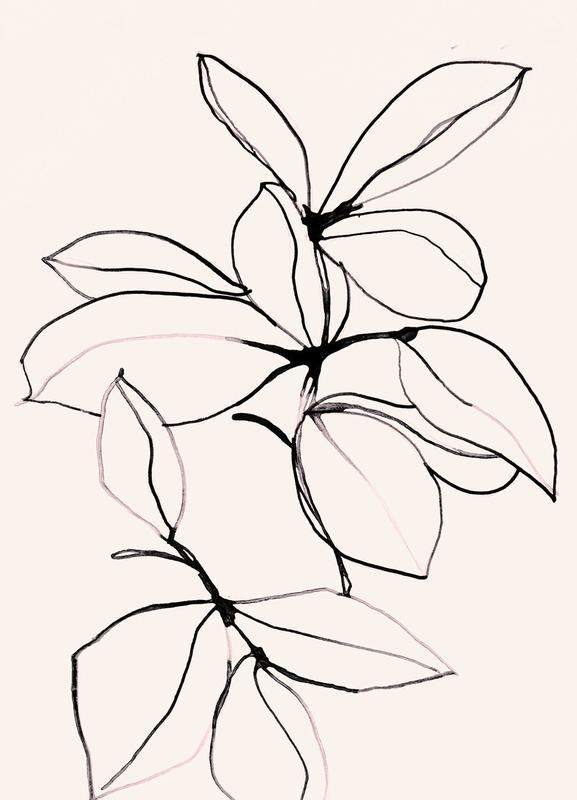 Foliage 0118 Canvastavla