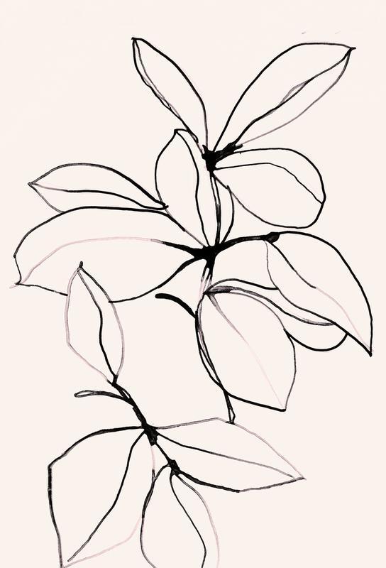 Foliage 0118 -Acrylglasbild