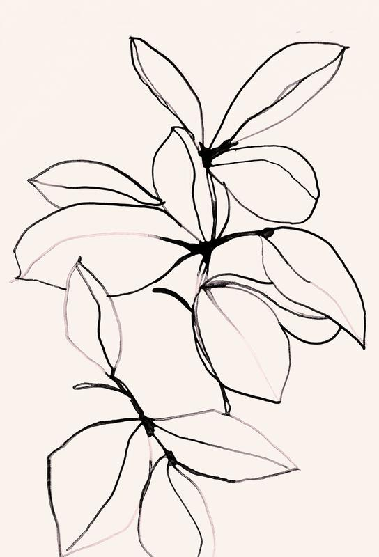 Foliage 0118 Aluminiumtavla
