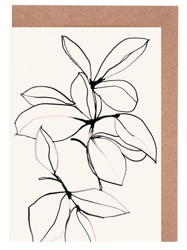 Foliage 0118 -Grußkarten-Set