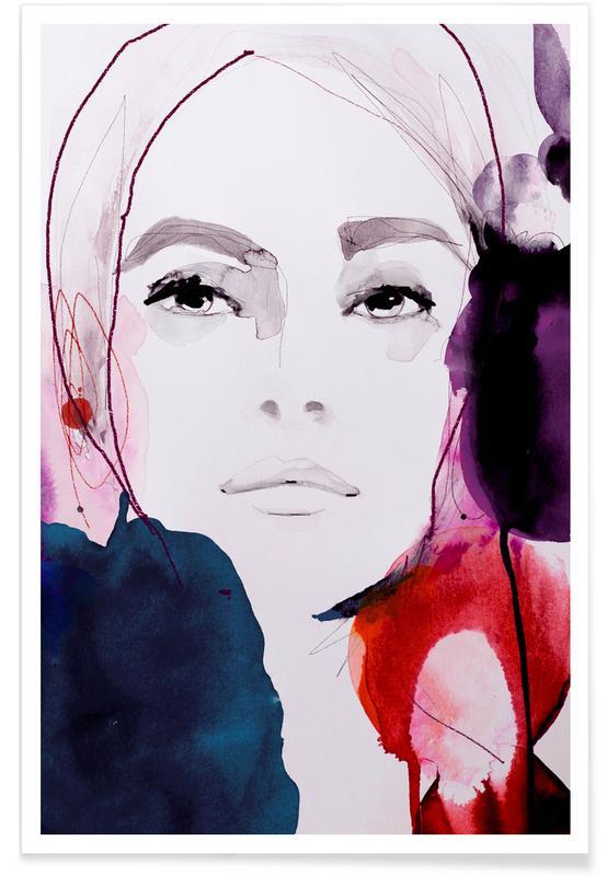 Portraits, Rouge Noir Poster