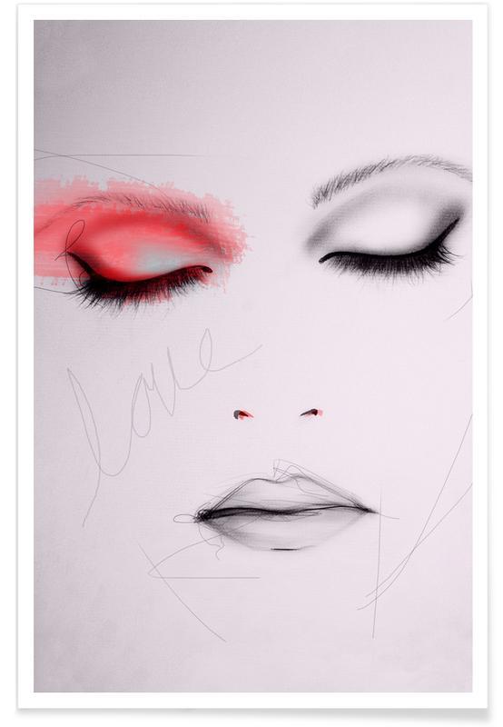 Portretten, Scarlet poster
