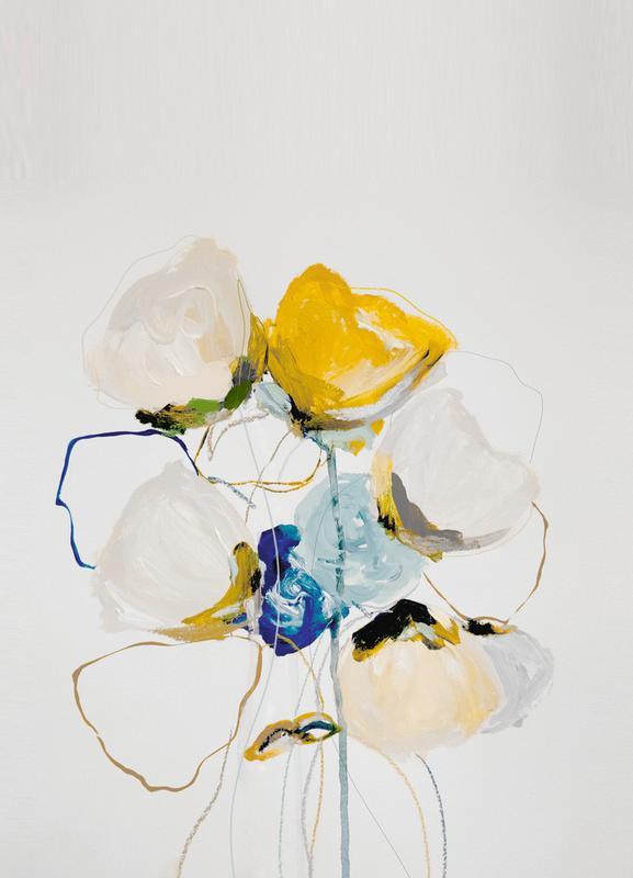 Bloom 1218 canvas doek