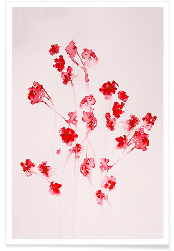 , Musing+Floral poster