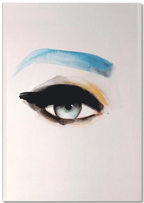 Fashion Illustrations, Body Close-Ups, Single Eye+Series06 Notepad