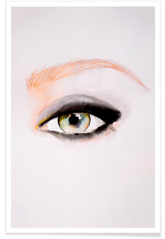Mode-illustratie, Body close-ups, Single Eye+Series8 poster