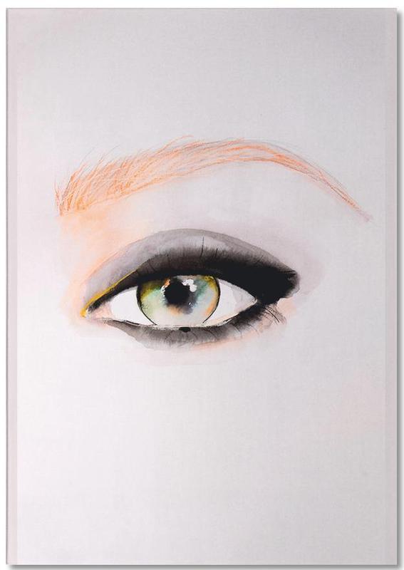 Illustrations de mode, Détails corporels, Single Eye+Series8 bloc-notes