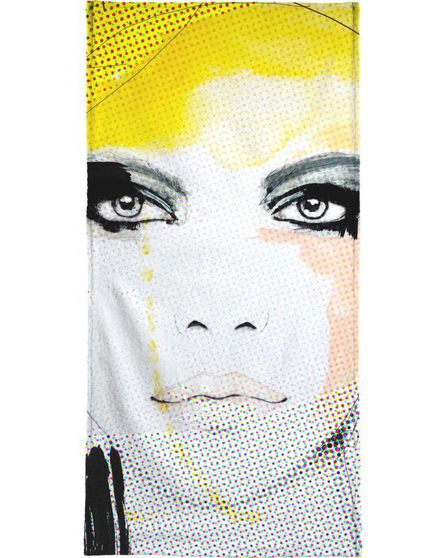 Illustrations de mode, Ruse serviette de plage