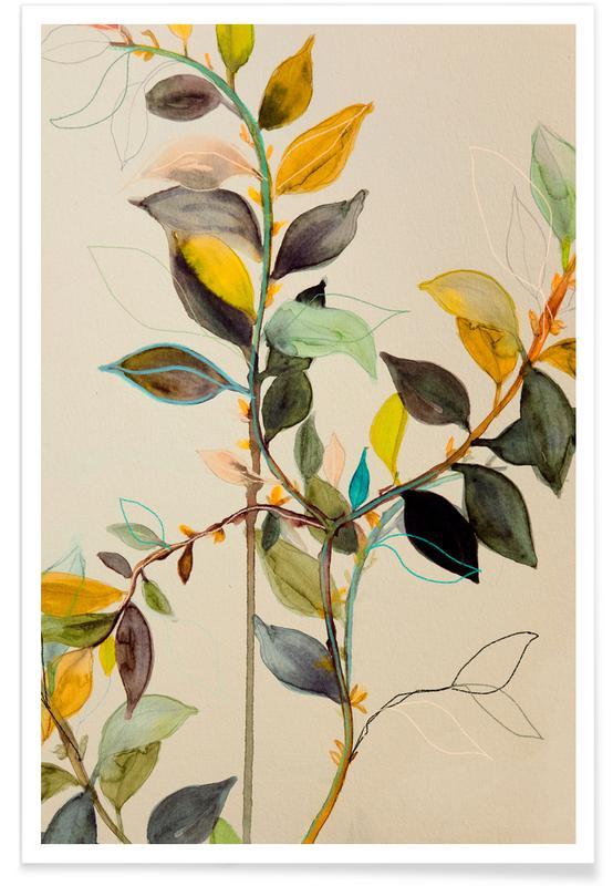 Blade & planter, Citrontræ Plakat