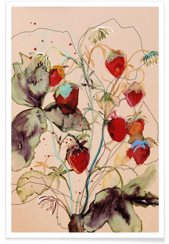 Strawberries affiche