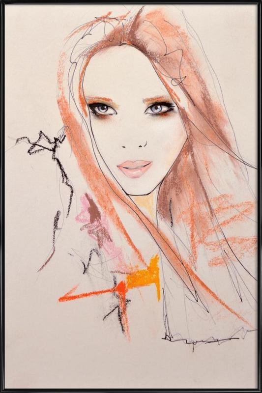 Marianne 2 ingelijste poster
