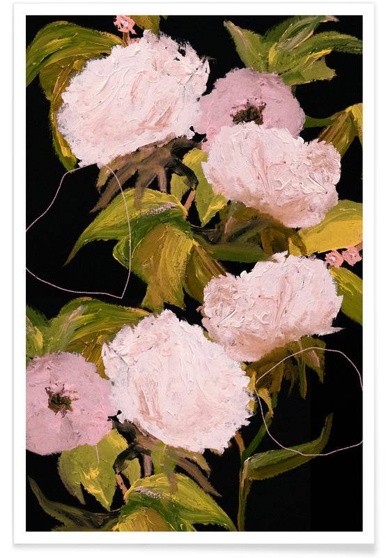 Blätter & Pflanzen, Peonies 2 -Poster