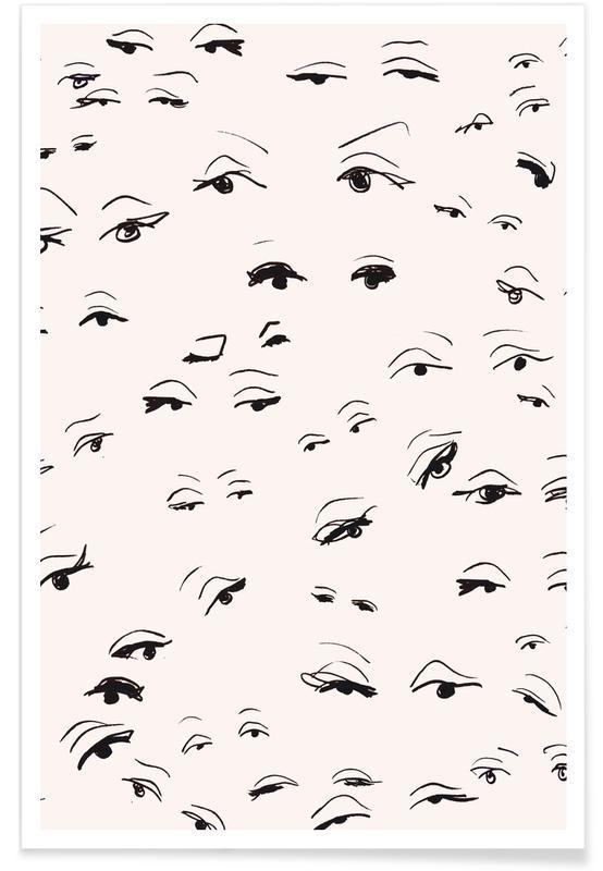 Détails corporels, Eyes affiche