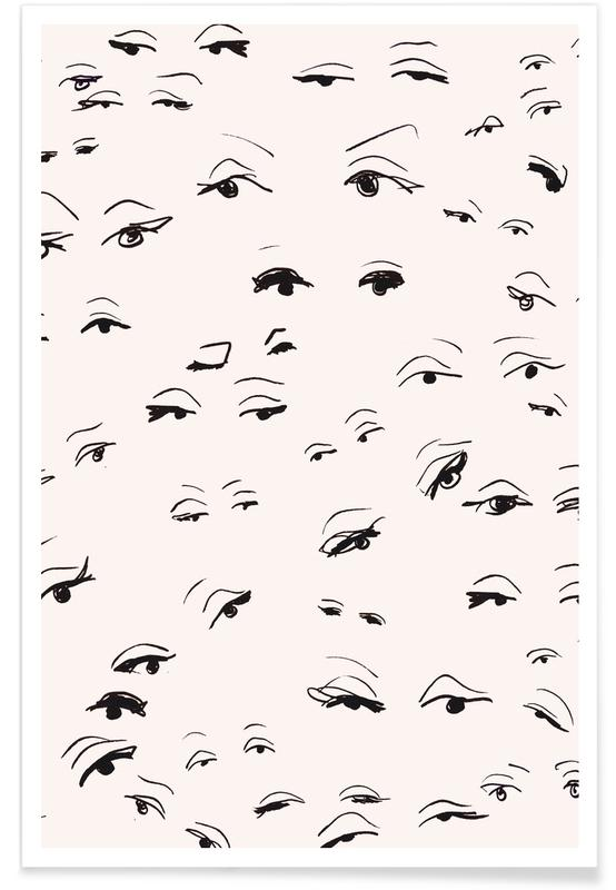 Body close-ups, Eyes poster