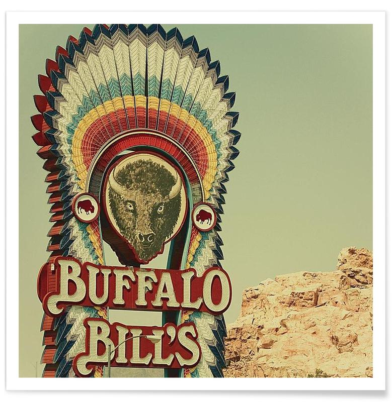 Buffalo Bills Square -Poster