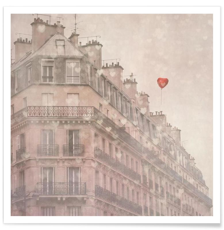Heart Paris -Poster