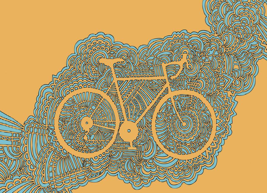 Bike toile