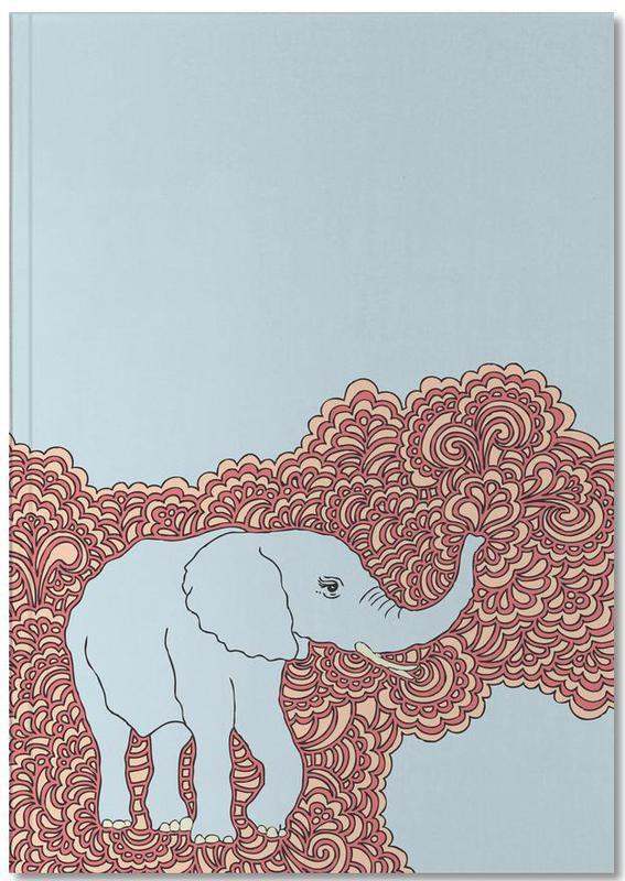 Elephant Blue Notebook