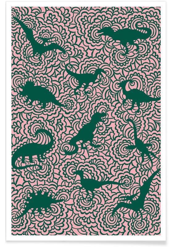 Nursery & Art for Kids, Dino 4 Poster