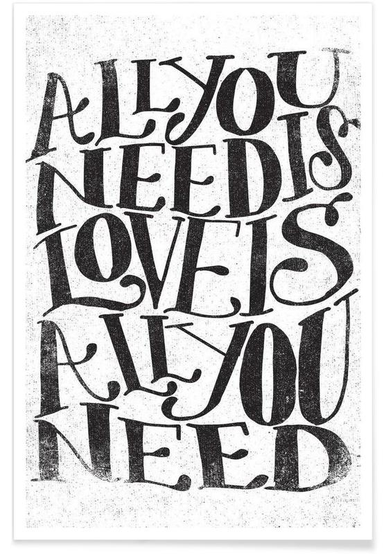 love is all you need -Poster