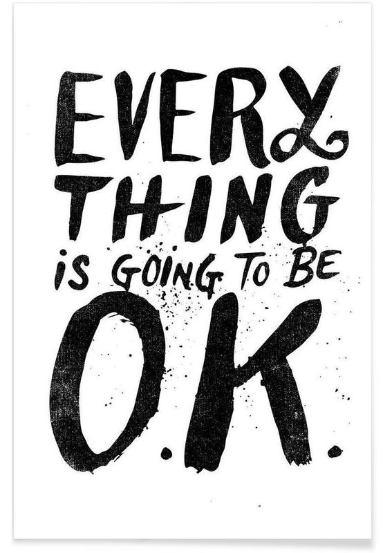 everything is going to be o.k. affiche