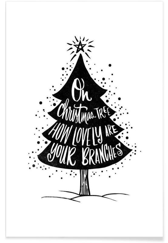 Oh Christmas Tree -Poster