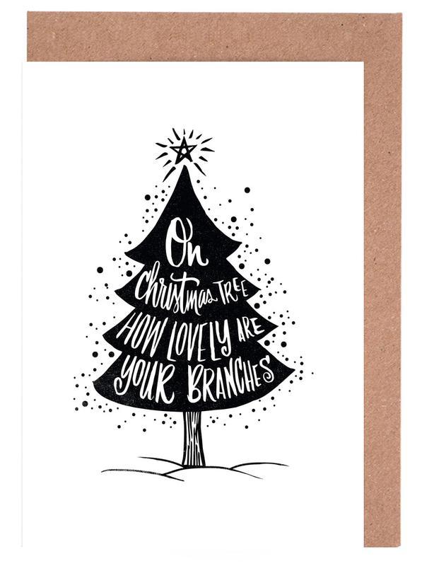 Oh Christmas Tree Greeting Card Set