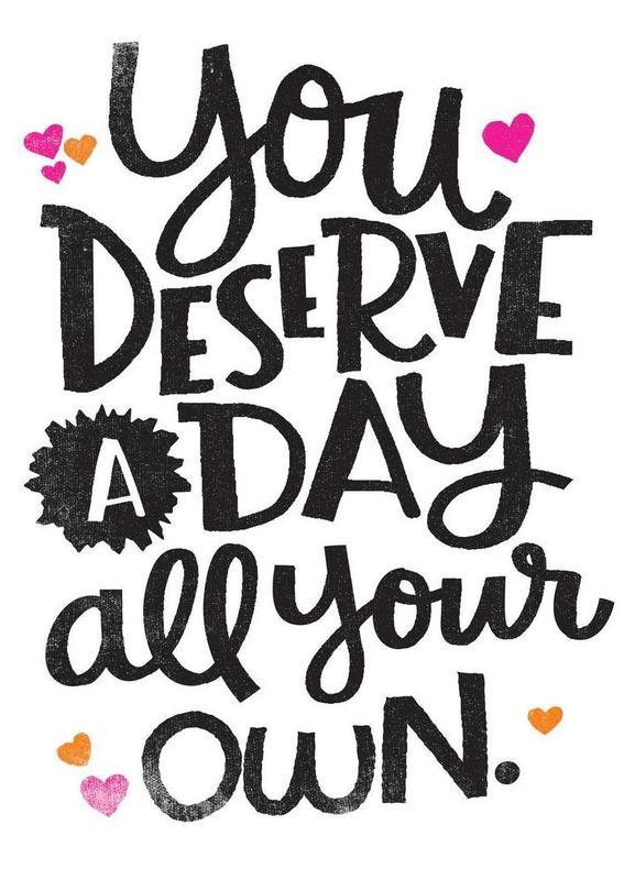 A Day Your Own -Leinwandbild
