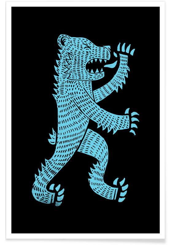 Beren, Bear poster
