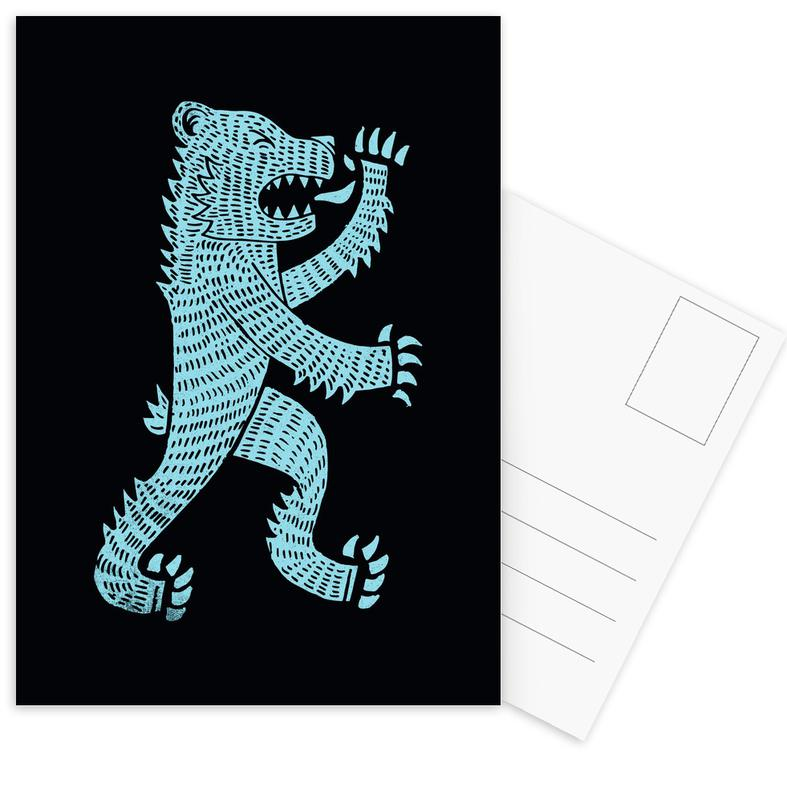 Ours, Bear cartes postales
