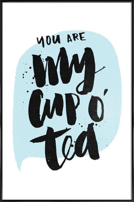 Cup O Tea Framed Poster
